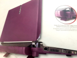Verizon Snap-On Cover for Gateway LT20 Netbook - Purple