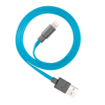 Ventev chargesync 6ft. Lightning Cable in Blue