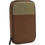 Ventev Genuine Leather Travel Pouch -  Tan/Camel