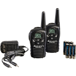 Midland 18 Mile Two-Way Radio With Rechargeable Batteries and Wall Charger - LXT118VP