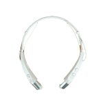Bluetooth Wireless Stereo Headset White
