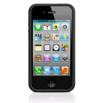Apple Bumper Case for Apple iPhone 4/4S - Black