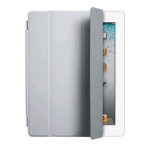 Original Apple iPad 2, 3, 4 Leather Smart Cover - Gray