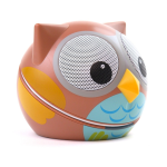 Zoo Tunes Compact Portable Bluetooth Stereo Speaker (Owl) - MCS07BT