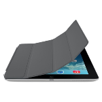Original Apple Polyurethane Smart Cover for iPad 2/3/4 (Dark Gray)