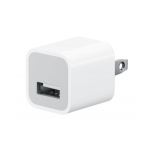 Apple 5W USB Power Adaptor for iPhone 5, iPhone 5S, iPhone 5C - White
