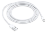 Original Apple Lightning to USB Cable for iPhone 5,6,7 iPad Mini, Pro (2m/6.6ft) MD819AM/A