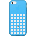 Original Apple Protective Silicone Case for Apple iPhone 5C - Blue
