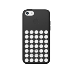 Original Apple Protective Silicone Case for Apple iPhone 5C - Black