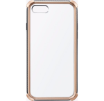 Milk And Honey Bumper Clear Case for Apple iPhone 7 (Gold)