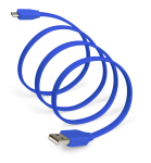 SYNCABLE Micro USB 39 Inch (1 meter) Blue
