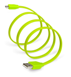 SYNCABLE Micro USB 39 Inch (1 meter) Green