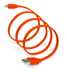 SYNCABLE Micro USB 39 Inch (1 meter) Red