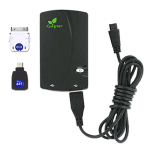 iGo Green Charge Anywhere 1800 mAh Power Extender with 30-Pin Cable for Apple & Micro USB Adapters - MICAPLPWR