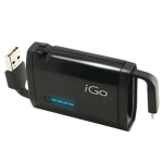 iGo MicroUSB Portable Power Pack / Battery Pack (Black) - MICPWRBST
