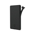 Motorola Slim 5100 Power Pack Portable Charger for Micro USB Devices (Black)