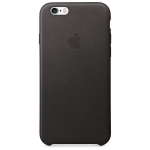 Original Apple Leather Case for Apple iPhone 6/6S - Black