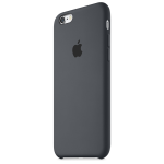 Original Apple Silicone Case for Apple iPhone 6/6S - Charcoal Gray