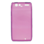 Verizon High Gloss Purple Silicone Cover for Motorola DROID RAZR - MOT912SILHGPRP