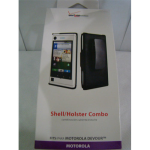OEM Verizon Shell & Holster for Motorola Devour A555 - Black