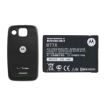 OEM Motorola Citrus WX445 Extended Battery & Battery Door (Bulk Packaging)