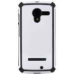 MOTOROLA MOTO X TACTIC BODY GLOVE CASE - WHITE/CHARCOAL