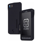 Incipio - Double Cover Case for Motorola Droid X2 - Black