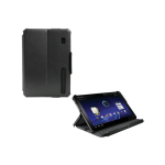 OEM Verizon Leather Display Folio for Motorola Xoom MZ600 (Black) (Bulk Packaging)