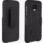 Verizon Kickstand Shell Holster Combo for Moto Z Droid - Black