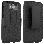 Verizon Case and Holster for Motorola Droid Mini - Black