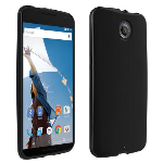 Verizon High Gloss Silicone Case for Google Nexus 6 - Black