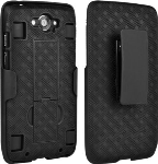 Verizon Shell Case and Belt Clip Holster for Motorola Droid Turbo XT1254 (1st gen)
