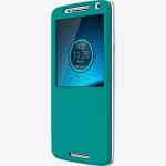 Motorola Flip Shell Case for Motorola Droid Maxx 2 - Torquoise