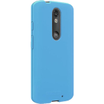 Verizon Silicone Case for Motorola Droid Turbo 2 - Matte Blue