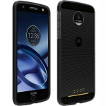 Verizon Two-Tone Case for Motorola Moto Z Droid (Black/Gray)
