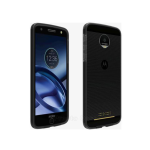 Verizon Two-Tone Bumper for Moto Z Force Droid - Black/Gray