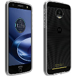 Verizon Two-Tone Bumper Case for Moto Z Force Droid - Clear