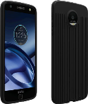 Verizon Matte Silicone Case for Moto Z Force Droid - Black