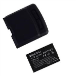 Technocel Lithium Ion Extended Battery & Door for Motorola Q9c - Black
