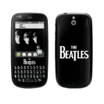 MusicSkins The Beatles Logo Skin for Palm Pixi