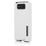 Incipio DualPro Shock-Absorbing Case for Motorola Droid Ultra XT1080 - White/Charcoal Gray