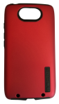 Incipio DualPro Shock-absorbing Case for Motorola DROID Turbo (1st gen) - Red/Black