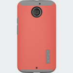 Incipio DualPro Shock-absorbing Case for Moto X (2nd Generation) - Coral/Gray