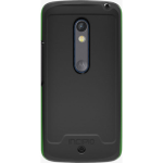 Incipio Performance Series Level 5 Case with Holster and Screen Protector for Motorola Droid Maxx 2 (Black/Neon Green)