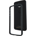 Incipio Co-Molded Bumper for Moto Z Force Droid in Black