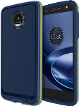 Incipio Performance Series Level 4 Case for Motorola Moto Z Droid - Navy/Yellow
