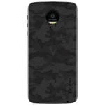 Incipio Interchangeable Back Plate for Moto Z Force Droid, Z Droid - Camo Black