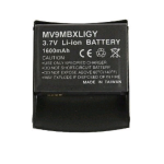 Technocel Lithium Ion Extended Battery & Door for Motorola V9M Razr2 - Black