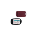 Technocel Lithium Ion Extended Battery & Door for Motorola W315 - Red