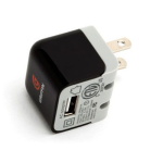 Griffin Powerblock Universal Micro USB for USB Charging Device 5W (Black) - NA23085
